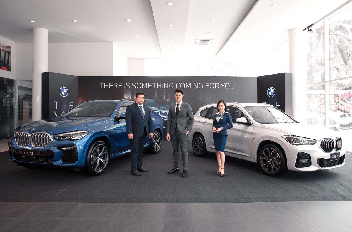 ເປີດໂຕລົດລຸ້ນໃຫມ່ລ່າສຸດ The new BMW X1 & The all new BMW X6